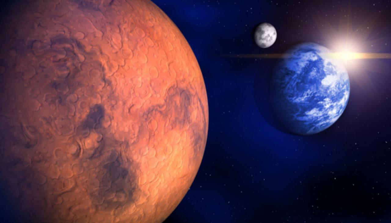 На Марсі є вода - це заявили європейські дослідники
