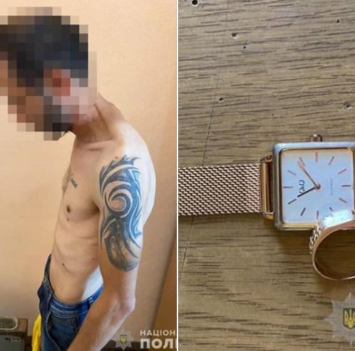 На Виноградівщині грабіжник виніс з будинку 100 000 гривень, 2500 доларів та золото: поліція затримала злодія (ФОТО)