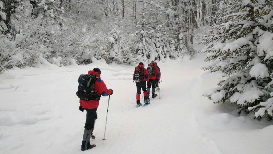 О 12:05 24 лютого однією з пошукових груп було знайдено туристів, що заблукали напередодні у горах Рахівського району.