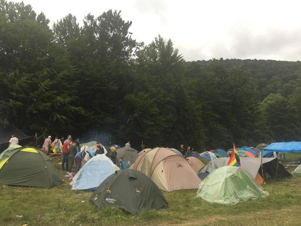 """Закарпатті кілька тисяч неформалів зібрались на фестиваль """"Шипіт"""""""