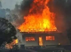 На Свалявщині палав житловий будинок