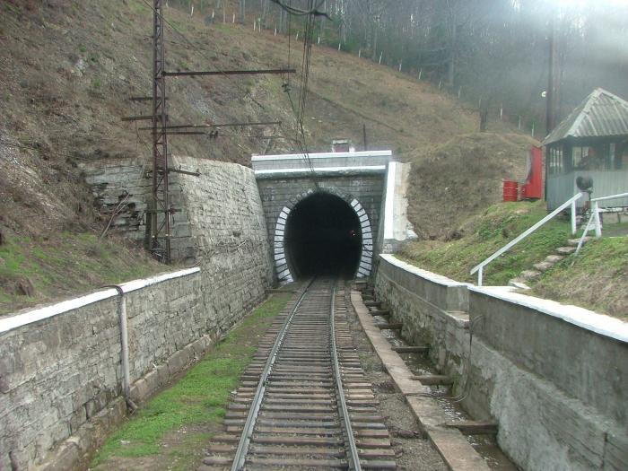 На Закарпатті законсервують Бескидський тунель