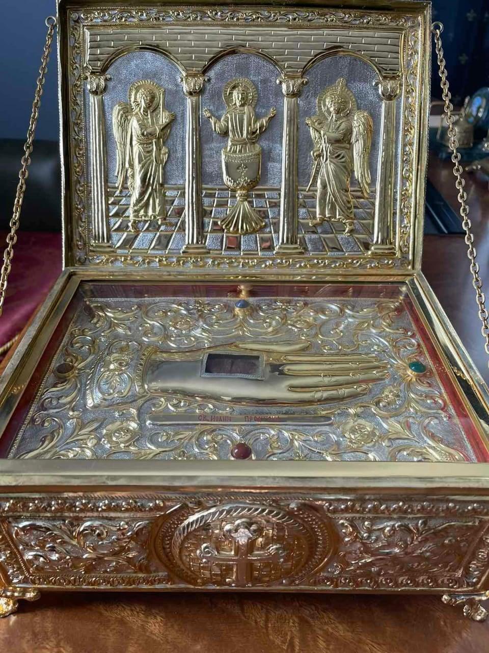 В храмах та монастирях Мукачівської єпархії на Закарпатті перебуватимуть мощі святого Пророка, Предтечі та Хрестителя Господнього Іоанна.