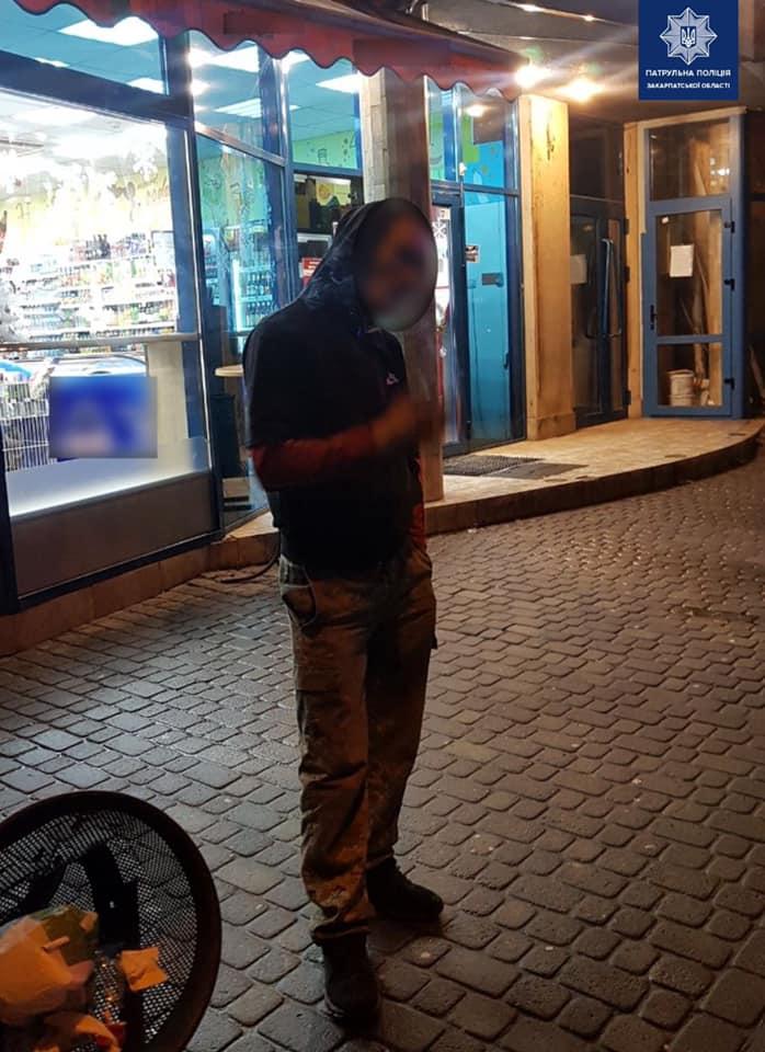 Патрульні затримали чоловіка у стані наркотичного сп'яніння із, ймовірно, забороненими речовинами