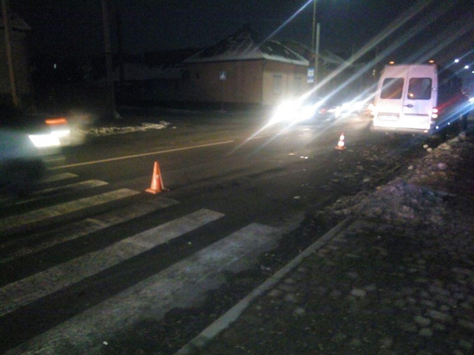 06 грудня, близько о 16:10 на лінію «102» надійшло повідомлення про те, що у м.Ужгород по вул. Гагаріна автомобіль здійснив наїзд на пішохода.