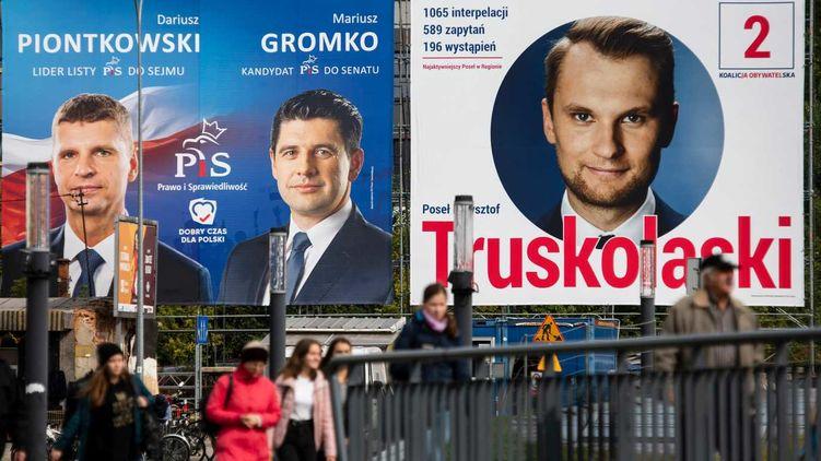 На виборах в Польщі перемогла правляча партія Качинського, який говорив, що Україна з Бандерою не ввійде в ЄС.