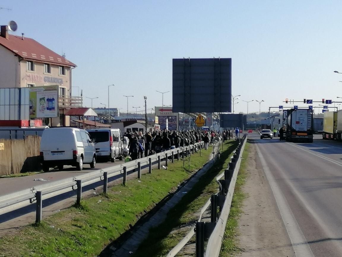 З'ясовуються подробиці схеми перетину західного кордону, раптово став платним.