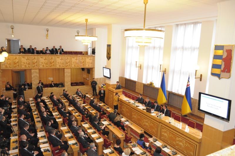 У ході  роботи першої сесії обласної ради VІІІ скликання депутати прийняли рішення  про утворення 10 постійних комісій, що є органами ради та обираються на строк її повноважень.