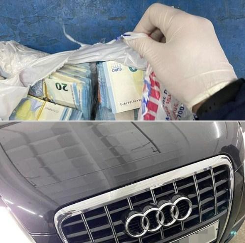 Нашпигований валютою автомобіль «Ауді» виявили учора ввечері у пункті пропуску «Порубне».