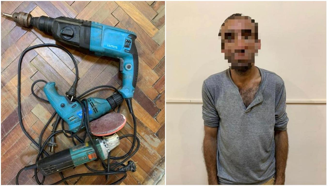 33-річний житель селща Королево, Берегівського району, викрав у 60-річного односельця електроінструменти.