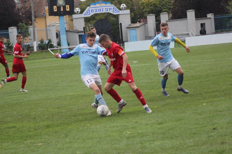 У цьому матчі вирішувалась доля чемпіонства у юнацькій першості Закарпатської області.