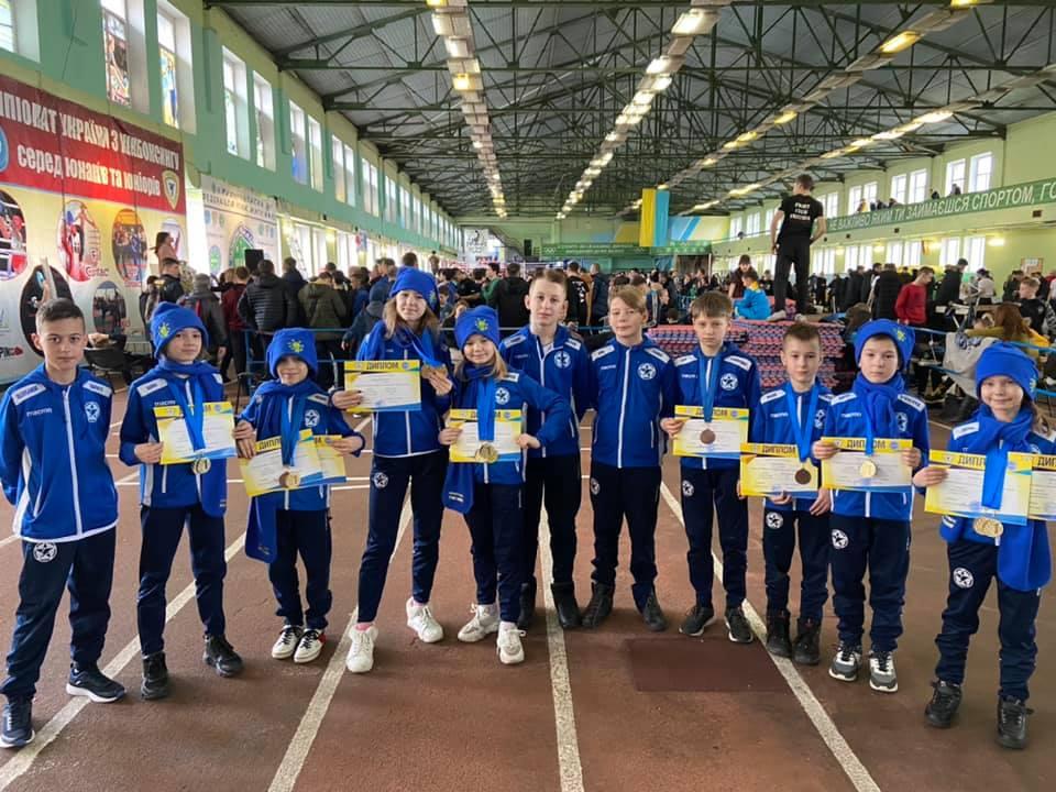 Закінчився відкритий Чемпіонат України з кікбоксингу ВАКО серед юнаків та юніорів, який проходив у м.Бровари 13-16 лютого 2020.