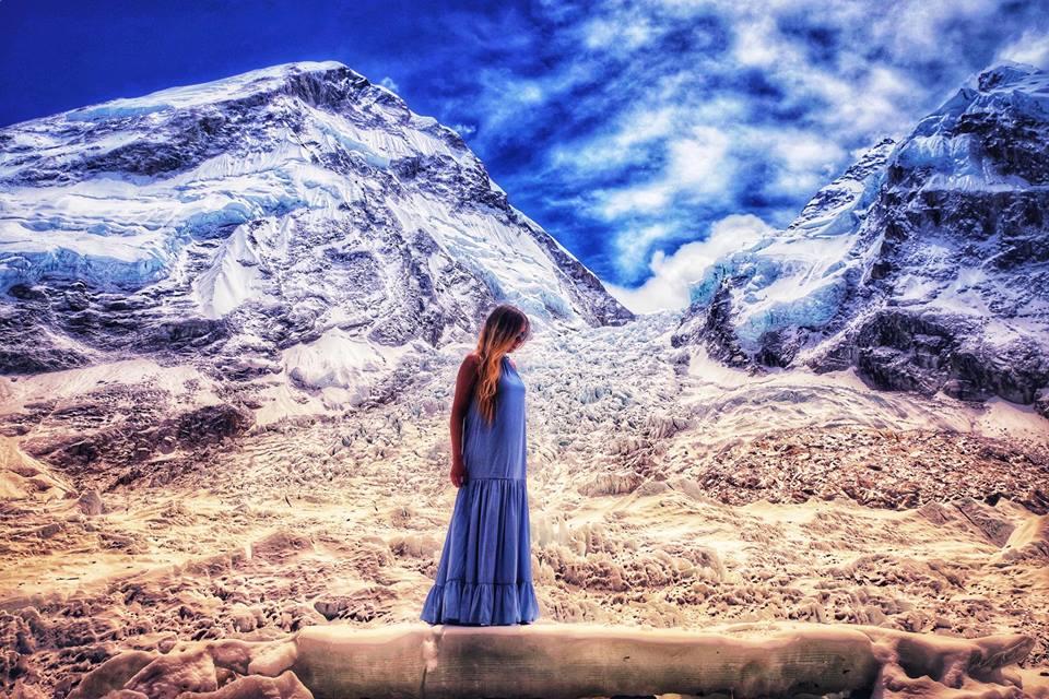 Альпіністка, родом із Закарпаття, повернулася додому з Гімалаїв (ВІДЕО)