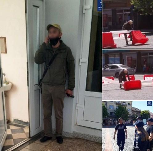 Обидві події трапилися 10 травня, на вулиці Миру.