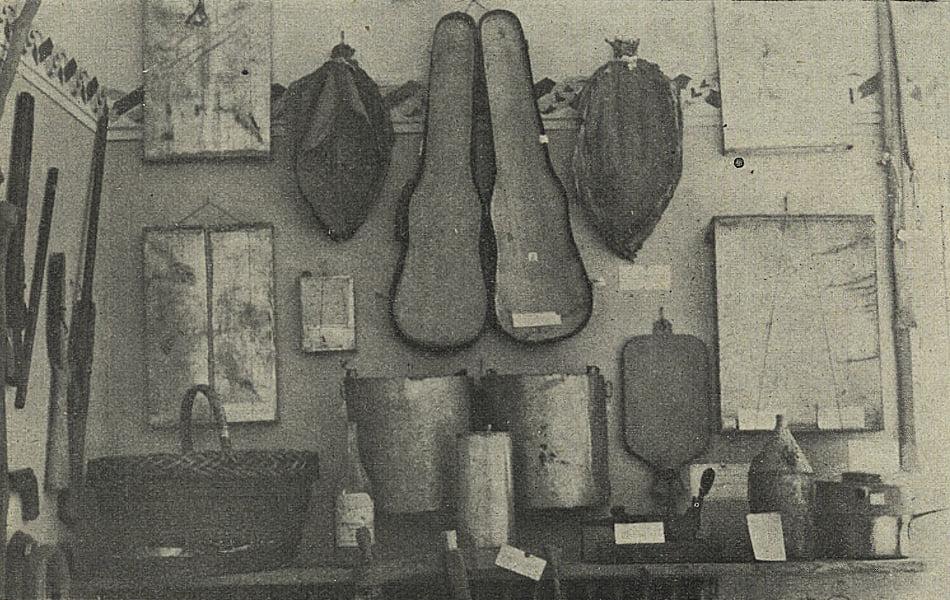 Це була експозиція криміналістичного музею, присвячена контрабанді на Підкарпатській Русі.