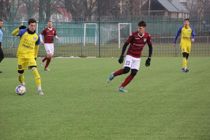 Сьогодні, 30 січня ФК «Ужгород» провів третій контрольний матч під час першого циклу підготовки до другої частини чемпіонату України з футболу в другій лізі.