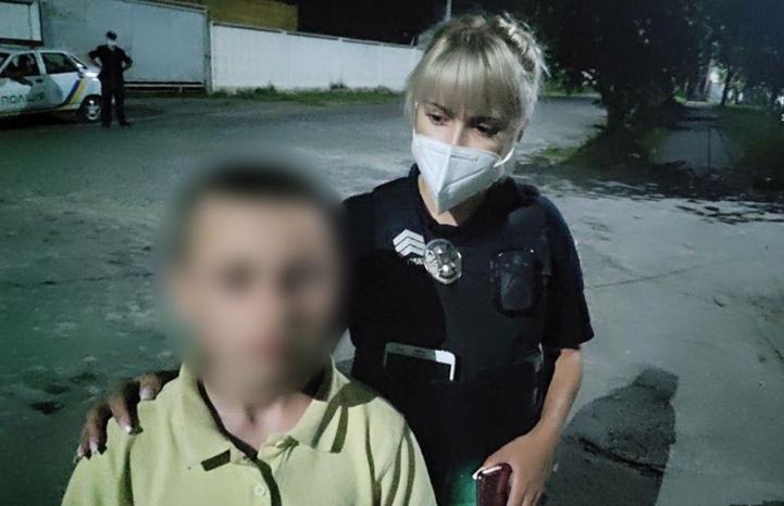 Повідомлення про зниклу дитину надійшло патрульним 24 липня, близько 23-ї години.