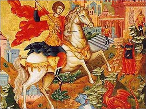 На 6 травня припадає День святого Юрія, церква цього дня вшановує пам'ять святого великомученика Георгія Побідоносця, який в народі відомий як Юрій, за язичницьких часів день Ярила.
