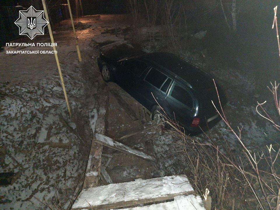 Близько 3-ї години ночі, під час патрулювання на автодорозі Київ-Чоп, неподалік Мукачева, інспектори помітили авто Skoda, водій якого порушив ПДР, перетнувши суцільну лінію дорожньої розмітки.