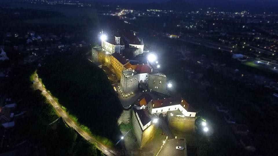 У Мукачеві замок «Паланок» засяє по-новому до річниці міста