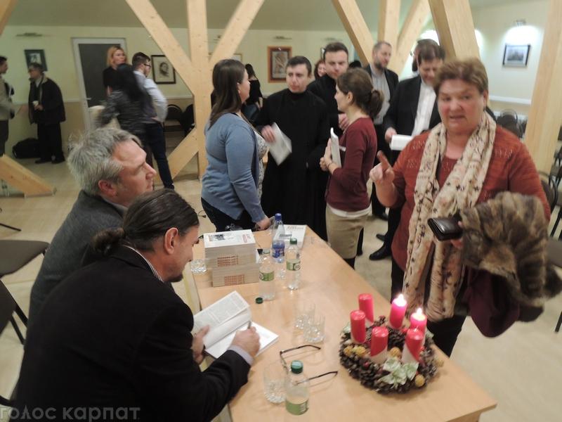 В Берегові презентували книгу про священика, який потрапив до ГУЛАГу / ФОТО