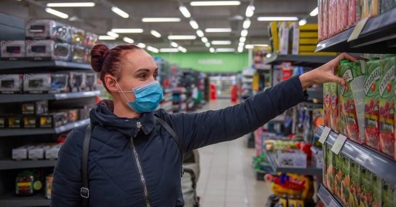 З 18 листопада, на території Чехії впроваджується обмеження стосовно кількості покупців, які одночасно можуть перебувати у магазині.