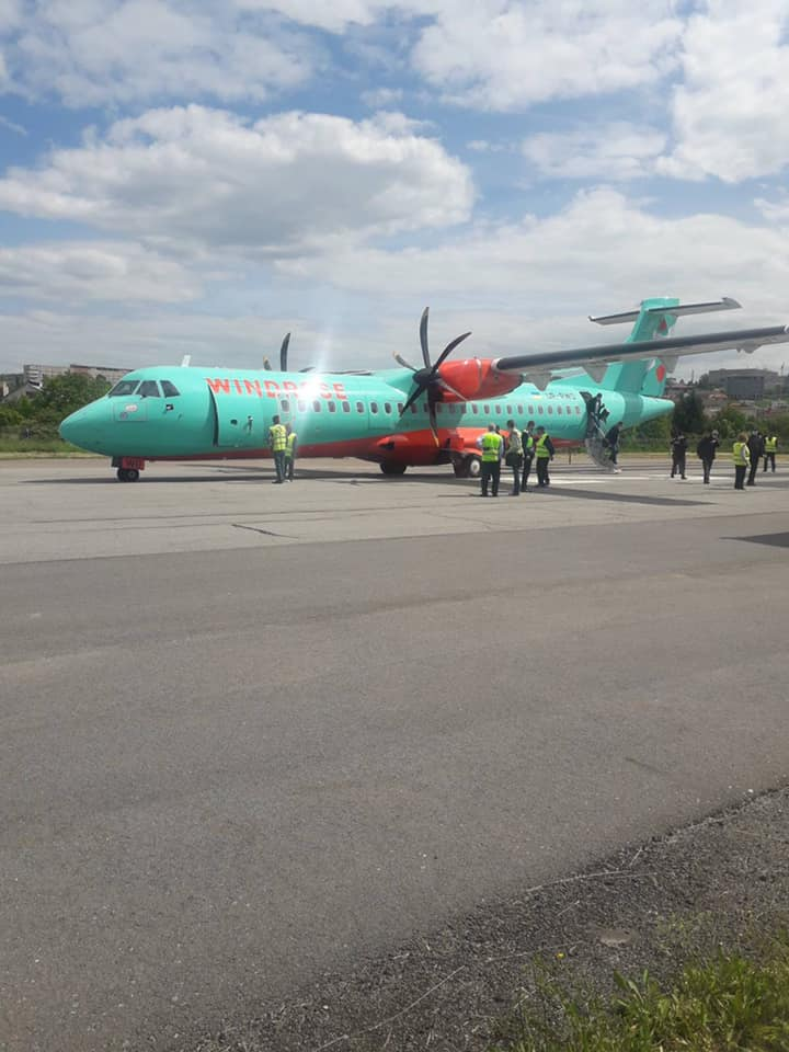 """Відсьогодні за графіком: понеділок, середа, п'ятниця компанія «Роза Вітрів» (Windrose) буде здійснювати рейс """"Київ-Ужгород"""" і назад."""