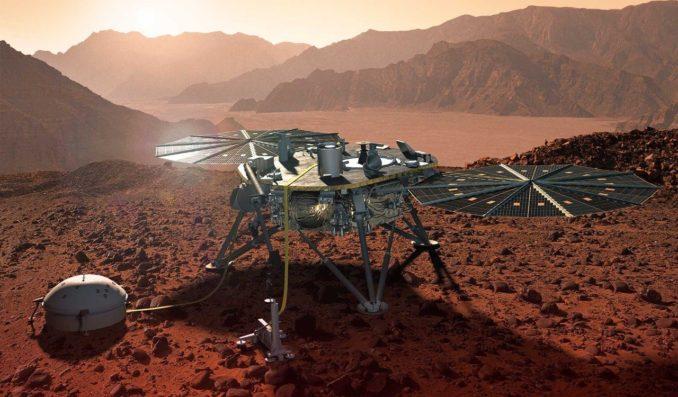Інструмент HP3 призначений для вимірювання теплових потоків в марсіанському грунті.