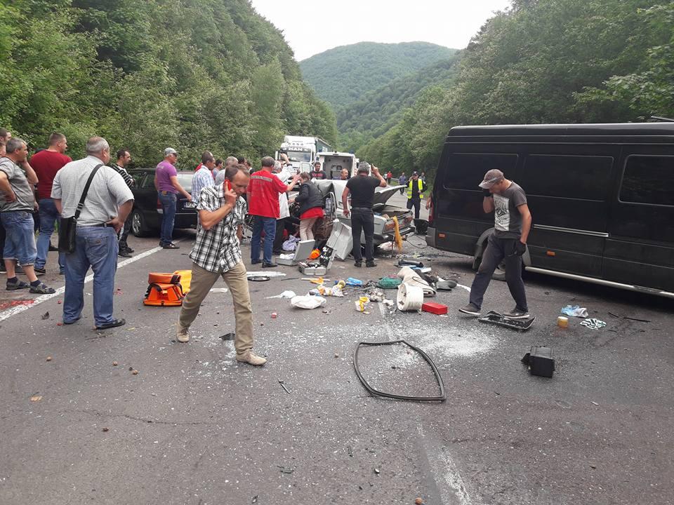 На Свалявщині смертельна ДТП за участі автобуса