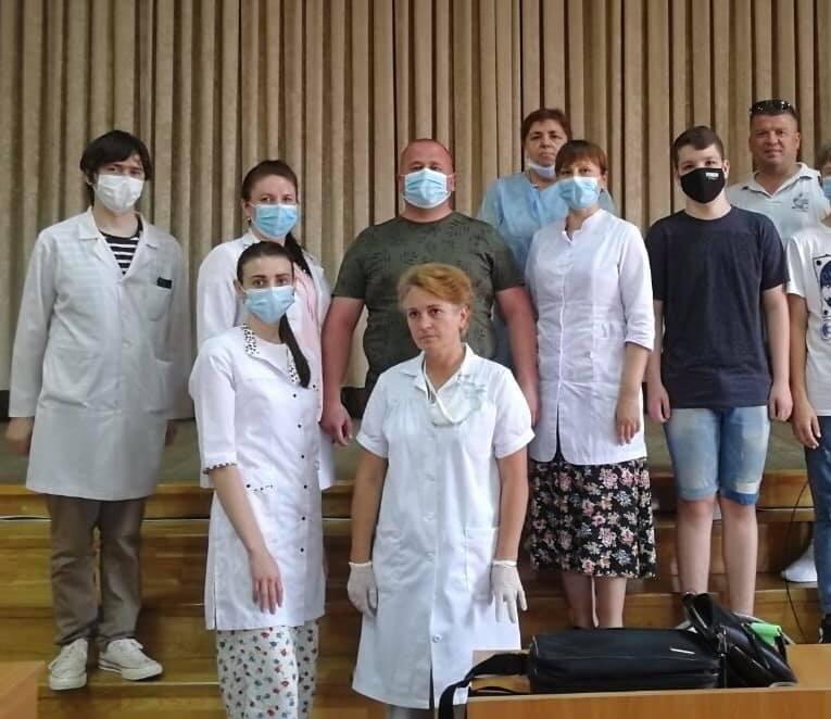 У Виноградові під час роботи центру вакцинації щеплення отримали понад 300 людей.