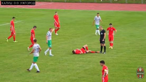Ужгород гра на виїзді із Калушем і програв з рахунком 1:2.