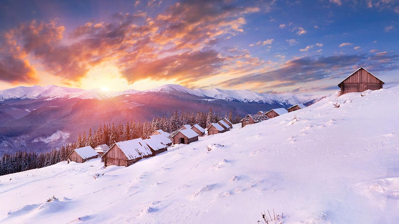 Температура повітря вночі 6-11°, вдень 1-6° морозу.