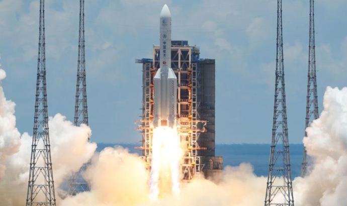 Китай запустив свій перший зонд з дослідження Марса