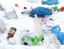 Колочава потопає у смітті