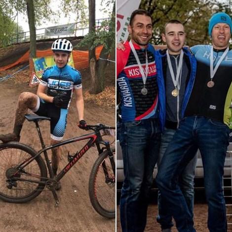 Юний велосипедист за два дні здобув перемогу на змаганнях у двох країнах.