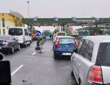 В Закарпатті спостерігаються черги на кордоні з Угорщиною