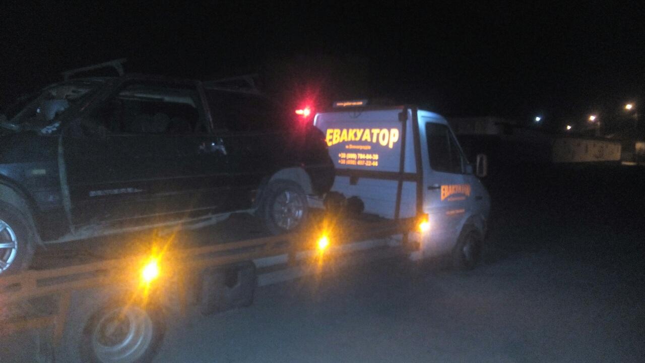 Аварія трапилася вчора ввечері при в'їзді у с. Підвиноградів.