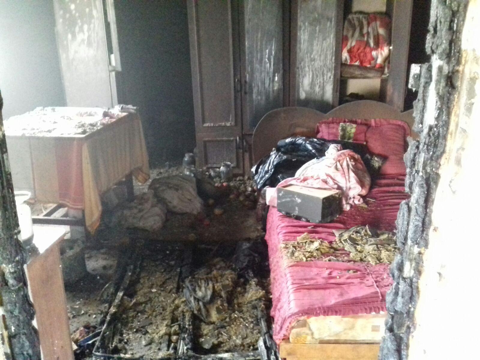 Вранці 1 листопада виникла пожежа в дерев'яному житловому будинку, розташованому в с. Вільхівці-Лази Тячівського району.