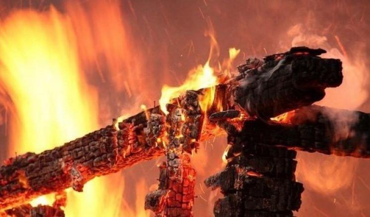 У результаті пожежі було пошкоджено покрівлю житлового будинку.