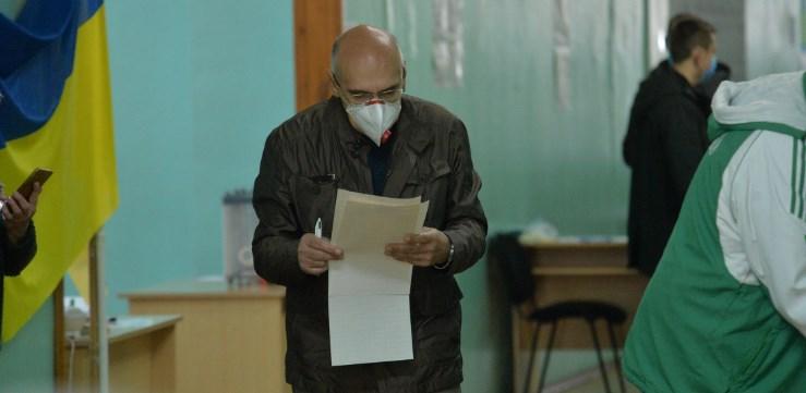 Загалом по Україні явка виборців на місцевих виборах 25 жовтня 2020 року склала 36,88 %.