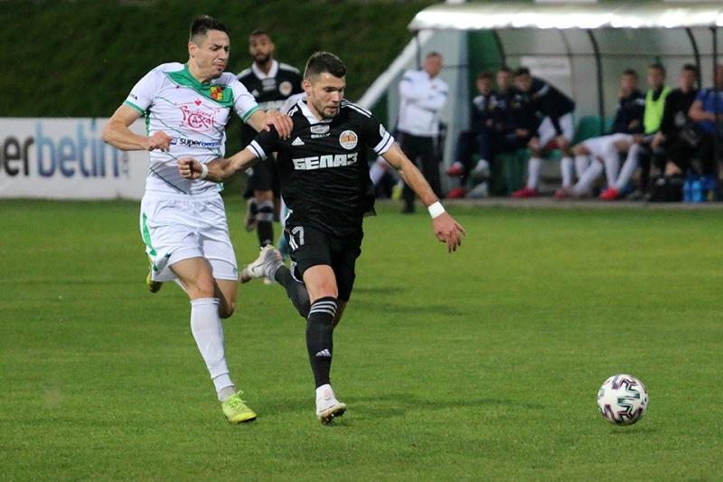 Мукачівський півзахисник Юрій Габовда забив дебютний м'яч за жодинське «Торпедо-БелАЗ».