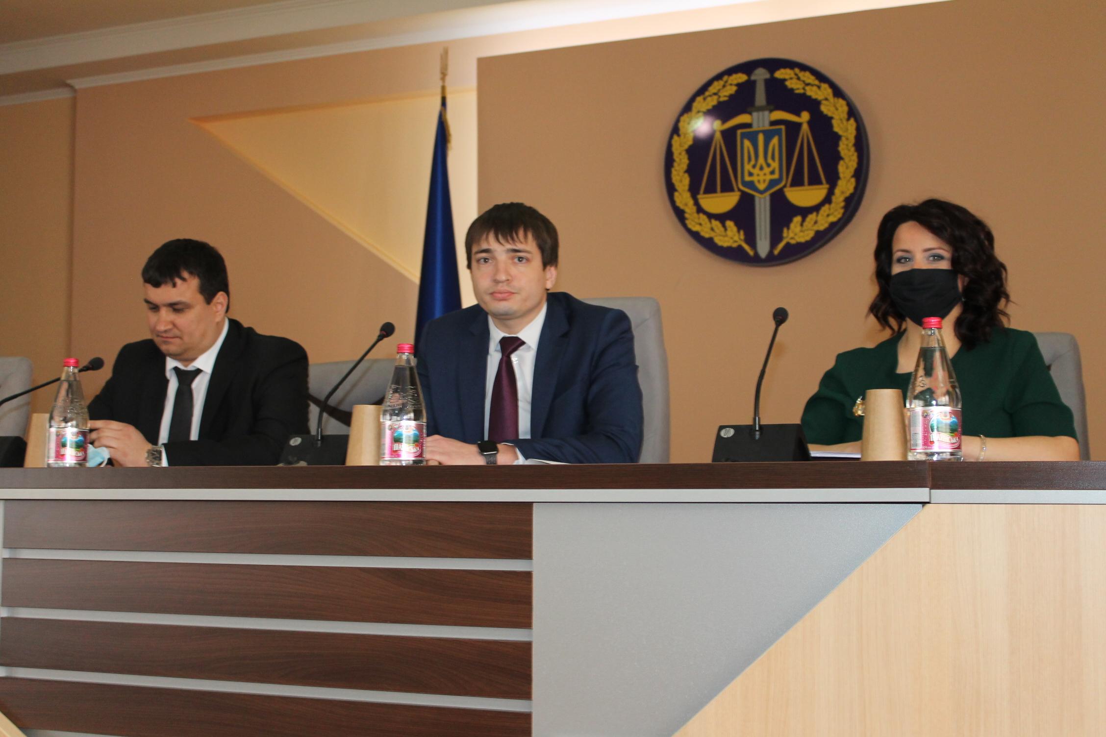 Керівник Закарпатської обласної прокуратури представив колективу ще одного свого заступника.