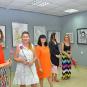 Виставка графіки відкрилася у Виноградівській виставковій залі ІМПАСТО (ФОТО)