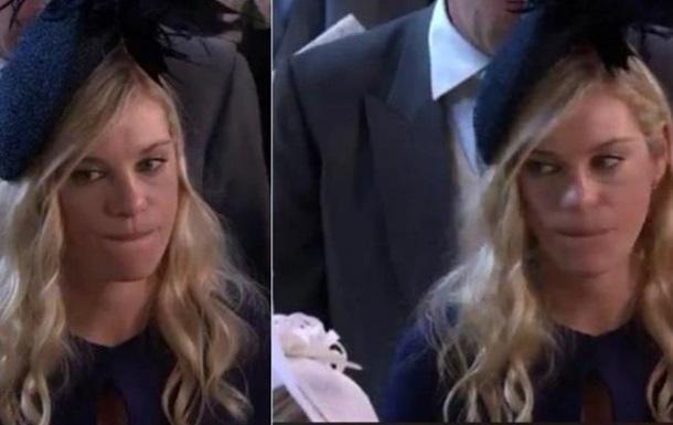 Колишня дівчина принца Гаррі на весіллі стала мемом