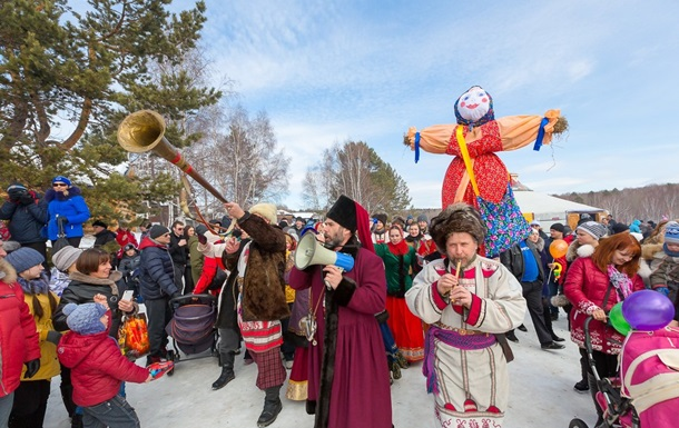 Дата свята змінюється щороку, залежно від того, на який день випадає Великдень. Його традиційні атрибути - опудало, народні забави та гуляння, млинці та вареники.