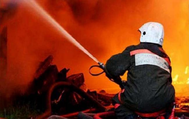 На Тячівщині сталася пожежа в новобудові  94bad56d5b400
