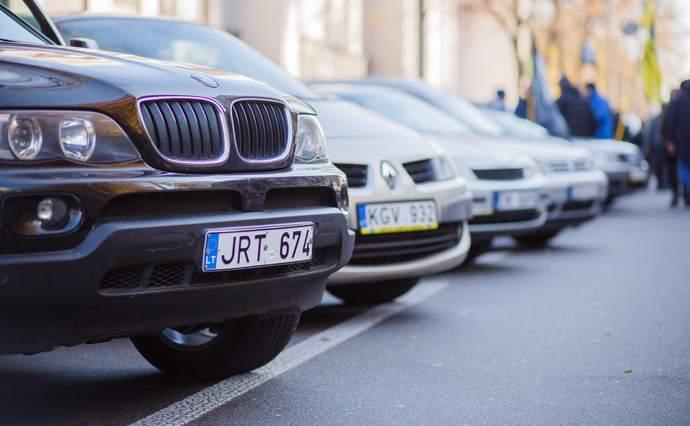 З 22 серпня, коли почали діяти нові штрафні санкції за порушення при переміщенні нерозмитнених транспортних засобів вже складено понад 200 протоколів.