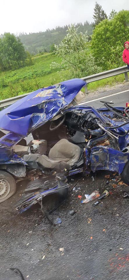 Аварія сталася на трасі Київ- Чоп.