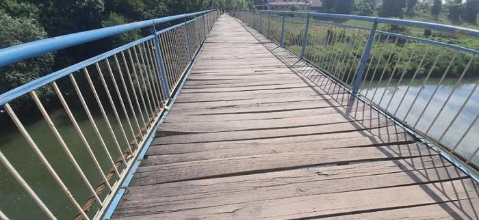 Додатково повідомляємо про зміни початку виконання робіт та графік виконання робіт з поточного ремонту конструкцій підвісного мосту.