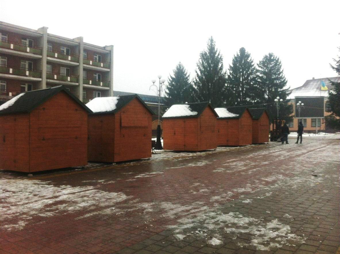 З 15 грудня по 20 січня в місті Тячів буде проходити Різдвяна ярмарка
